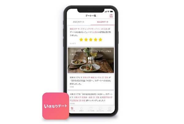 いきなりデートアプリ